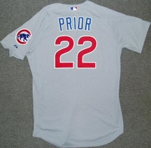 Mark Prior - I have the blue alternate jersey. Not easy to find online, as Prior only really had 1 good year and blew out his arm.