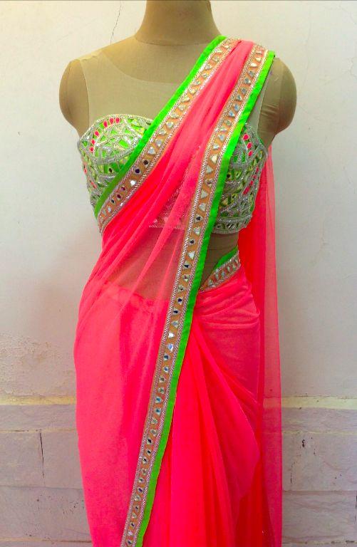 Saris « Arpita Mehta lovingggg the neons!!!