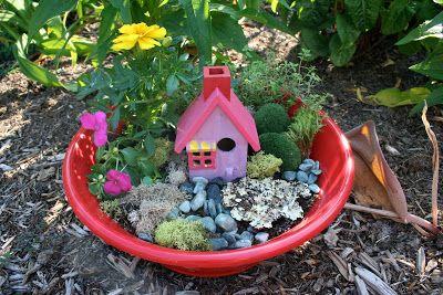 Fairy Garden In A Pot