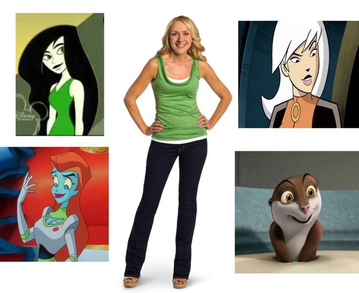 Nicole Sullivan is Shego, Mira, Drew, and Marlene by 9029561 on DeviantArt