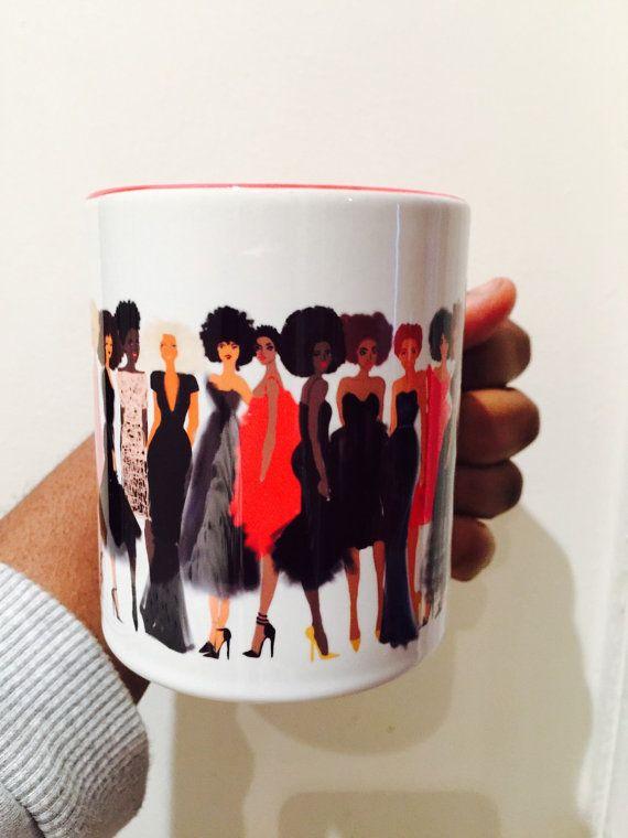 Black girls Mug by Nikisgroove on Etsy