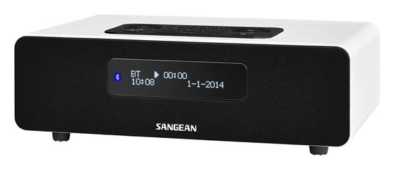 Sangean DDR-36 Alarm Clock Radio | DDR 36 Bluetooth Music System | The Listening Post Christchurch and Wellington |