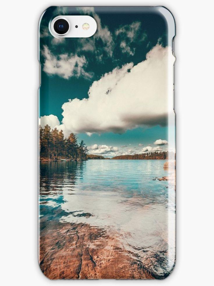 'Belle Svezia' iPhone Case/Skin by HappyMelvin. #nature #landscape #wanderlust #iphonex #phonecase