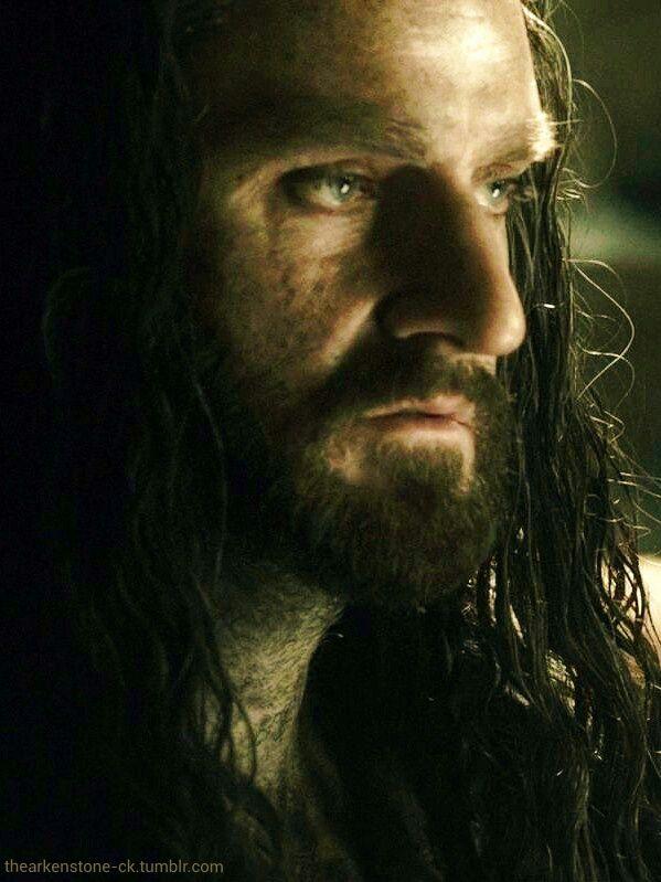 Richard Armitage as Thorin Oakenshield in The Hobbit Trilogies