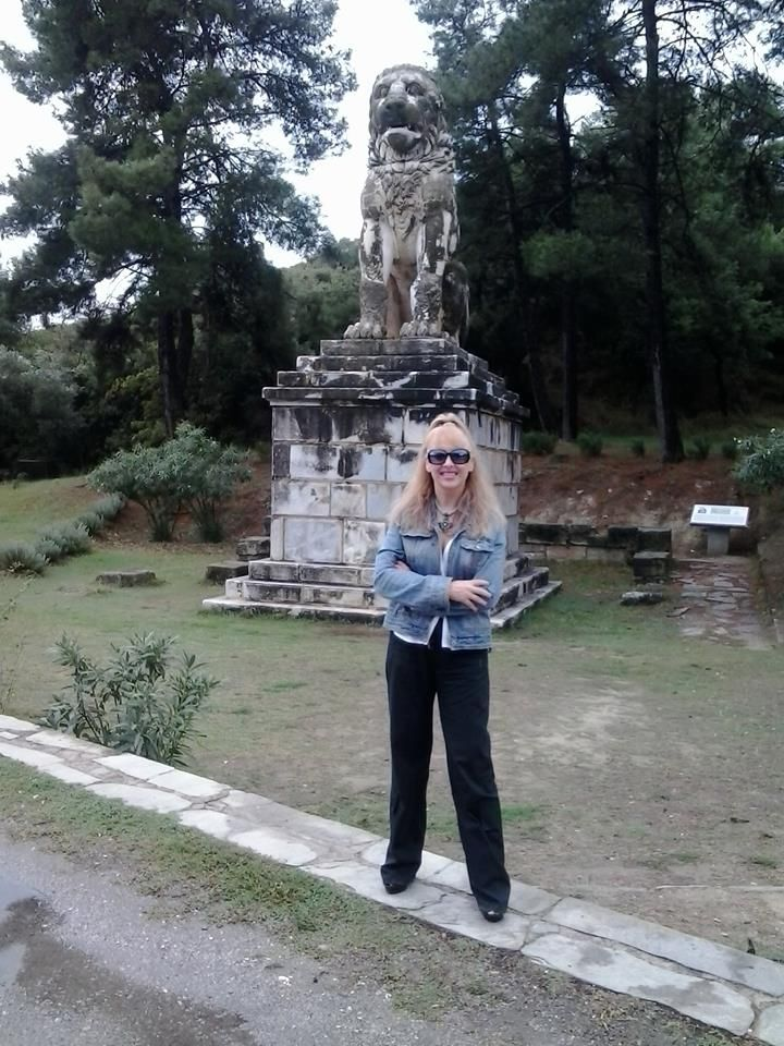 In this picture I am in Amphipolis  hill casta. I believe to be the tomb of Alexander the Great- October 2014