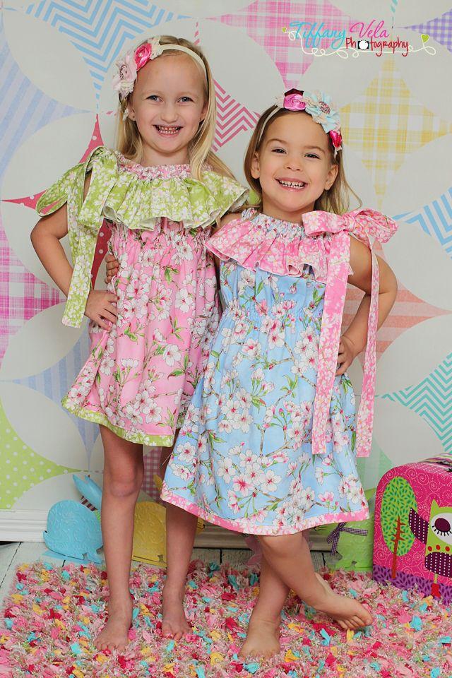 Allison's Ruffled Pillowcase Dress and Top