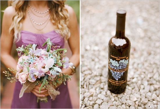Winery Inspired Wedding Ideas