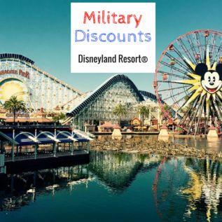 Disneyland military discounts