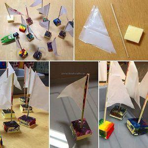 sailing boat crafts