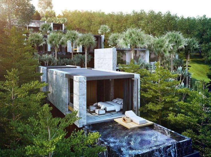 The luxurious X2 beachfront villa in Phuket.