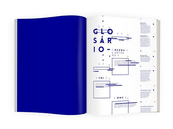 Editorial - Economia del subdesarrollo on Editorial Design Served