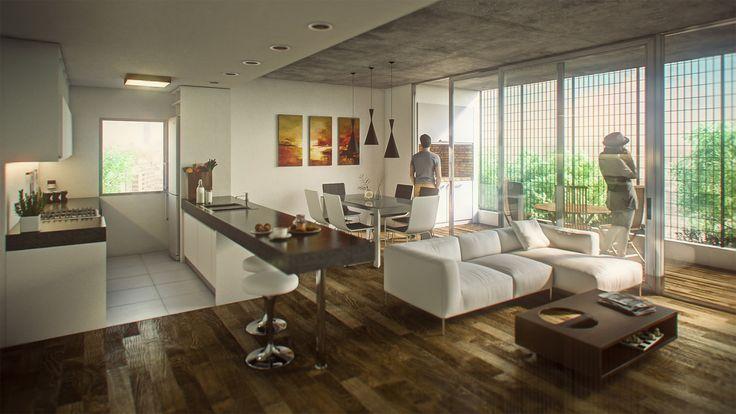 ArtStation - FIRMAT BUILDING Interior 2, Bruno Bolognesi