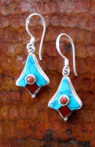 Turquoise Sterling Earring