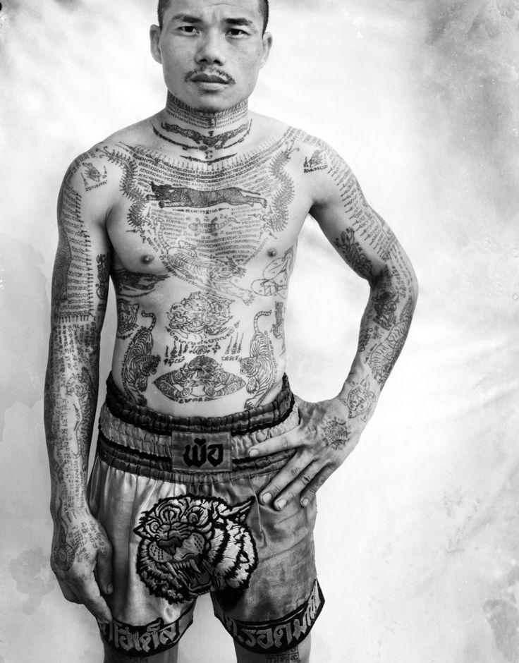 Cedrid Arnold de Yantra, practicante de boxeo tailandés