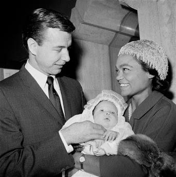Eartha Kitt married John William McDonald in 1960. Although the marriage did not last, they brought a beautiful mixed race child into the world.