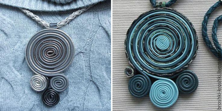 Мастерим украшение из натуральной кожи - Ярмарка Мастеров - ручная работа, handmade