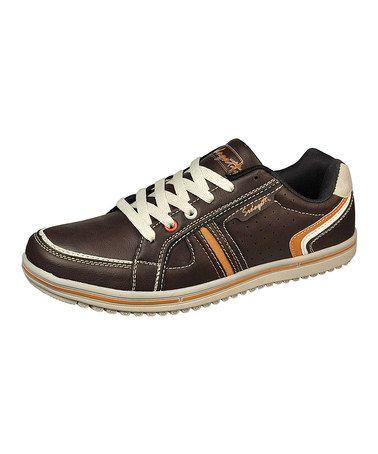 Another great find on #zulily! Brown & Orange Sneaker by Sedagatti #zulilyfinds