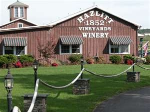 Hazlitt Winery home of Red Cat!!! And oh so tasty Cabin Fever