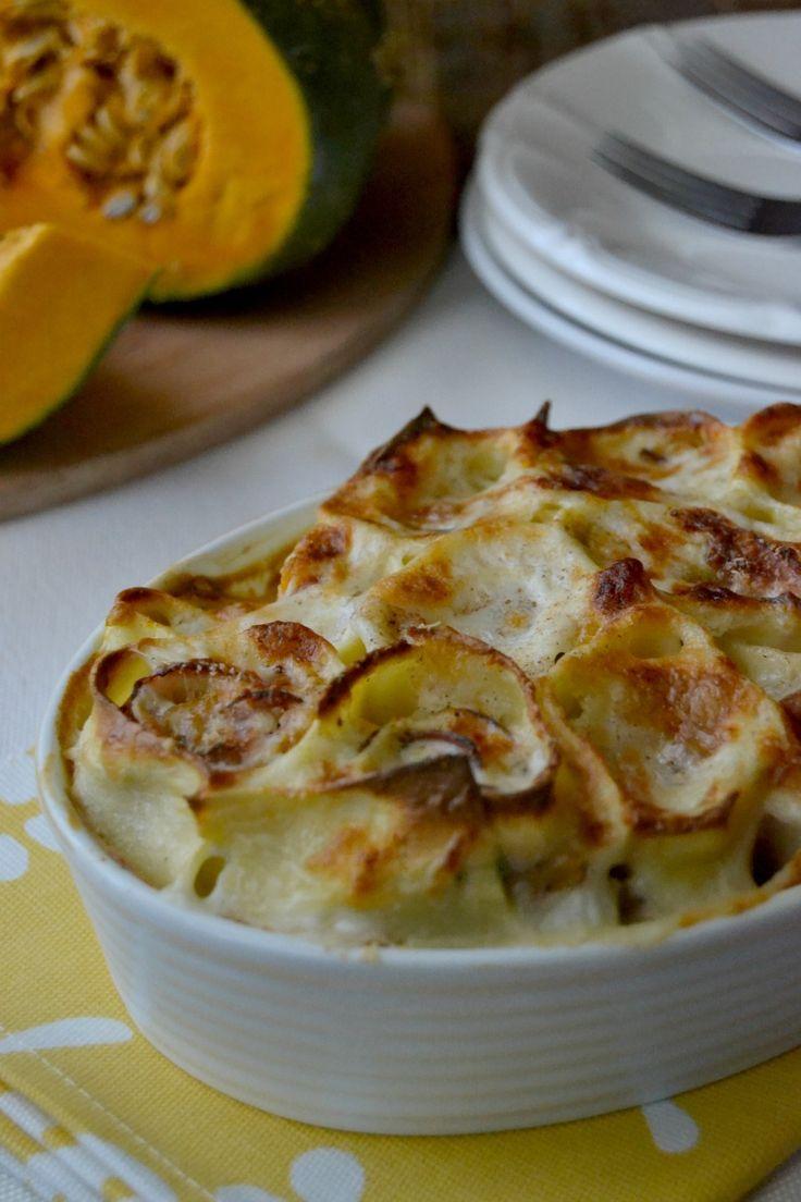 Ricetta Nidi di pasta con zucca e speck  Dolce e Salato di Miky