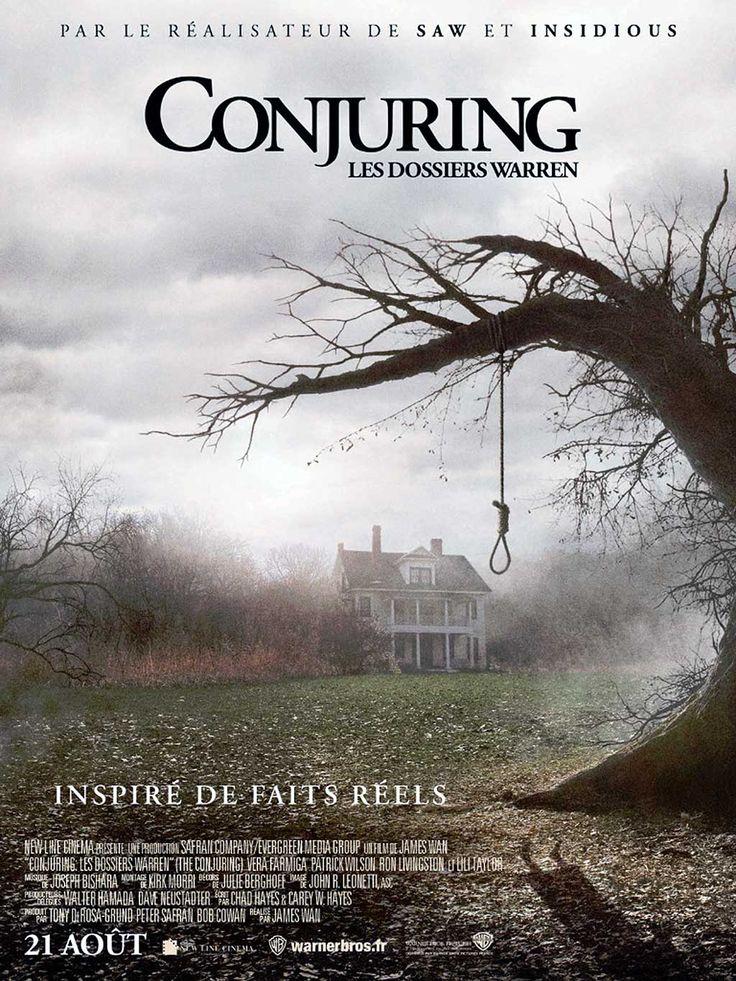 Conjuring : Les Dossiers Warren, Film de James Wan avec Vera Farmiga, Patrick Wilson, Lili Taylor. Avant Amityville, il y avait Harrisville…