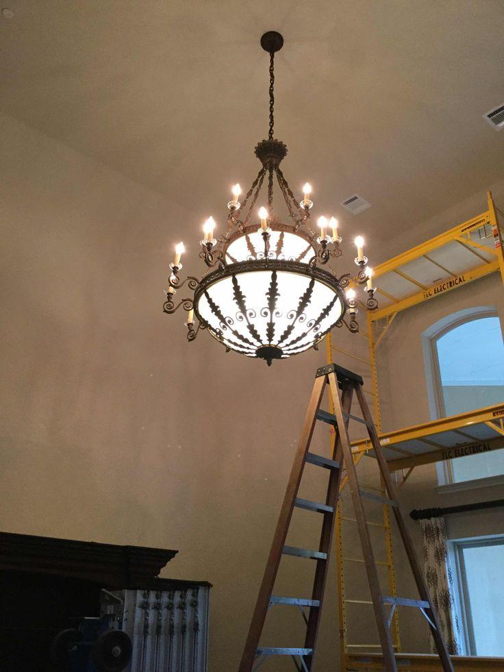 Chandelier installation irving tx call tlc electrical today at 817 424 2684 chandelier installation pinterest chandeliers