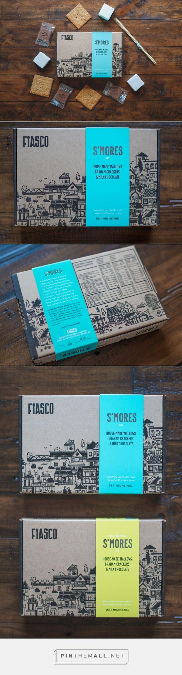 Fiasco Gelato S'mores Kit  — The Dieline - Branding & Packaging