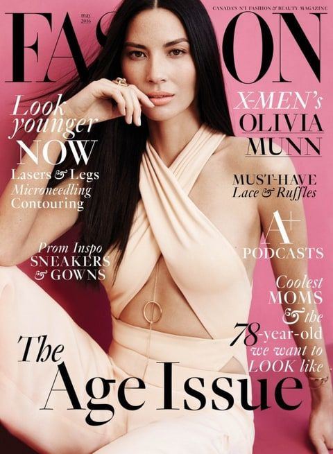 Olivia Munn denies plastic surgery in interview with Fashion magazine -- read what she had to say!