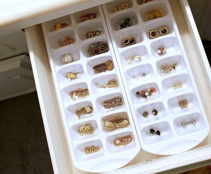 27 Brilliant Jewellery Organizer Ideen, mit denen die Organisation Spaß macht