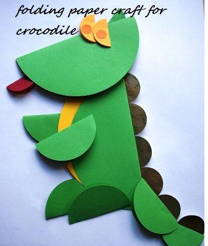 Crocodile Crafts Idea for Preschool - Preschool Crafts