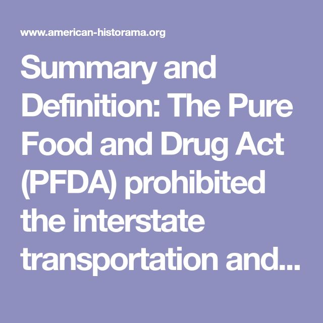 progessives and the pure food and drug 29102014 the meat inspection act and the pure food  the meat inspection act and the pure food and drug act were the most influential laws in the progressive.