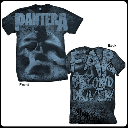 PANTERA - Far Beyond Driven (All Over Print) - T-Shirt  $23.99