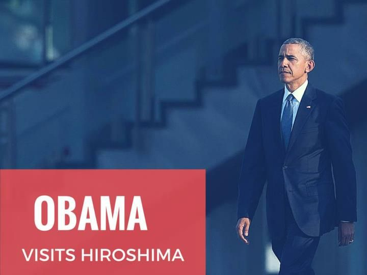 President Barack Obama visited Hiroshima today and paid respect to the 140,000 lives killed by the atomic bomb dropped on the city in 1945. He became the first sitting US president to do so. He called for a world without nuclear weapons but did not apologize for the attack.