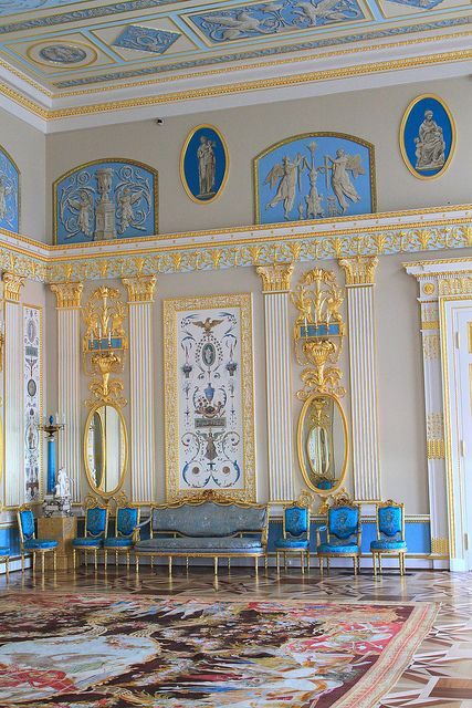 Catherine Palace, St. Petersburg _2011_05_20_0050, via Flickr.