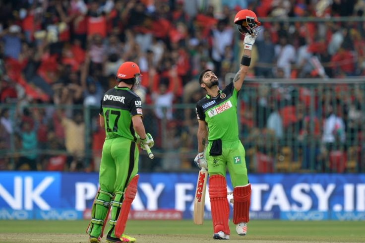 Praise for record-breaking Kohli, de Villiers after IPL tons Bangalore (India) (AFP) – Leading cricketers hailed Virat Kohli and teammate AB de Villiers after the pair smashed scintillating centuries in their Indian Premier League match to break a string of records. India's Kohli struck a 55-ball 109 while South Africa's de Villiers scored an unbeaten …  https://sports.desiforce.com/praise-for-record-breaking-kohli-de-villiers-after-ipl-tons/