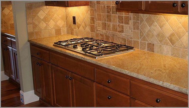 Tile Backsplash For Golden Oak Cabinets Madura Gold