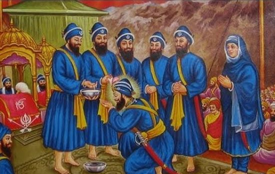 The Khalsa is called the nation of the Sikhs.