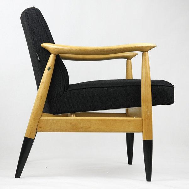 fotel polski design lata 60