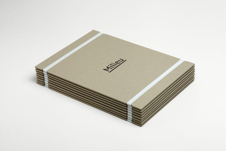 Folder binded with elastic band
