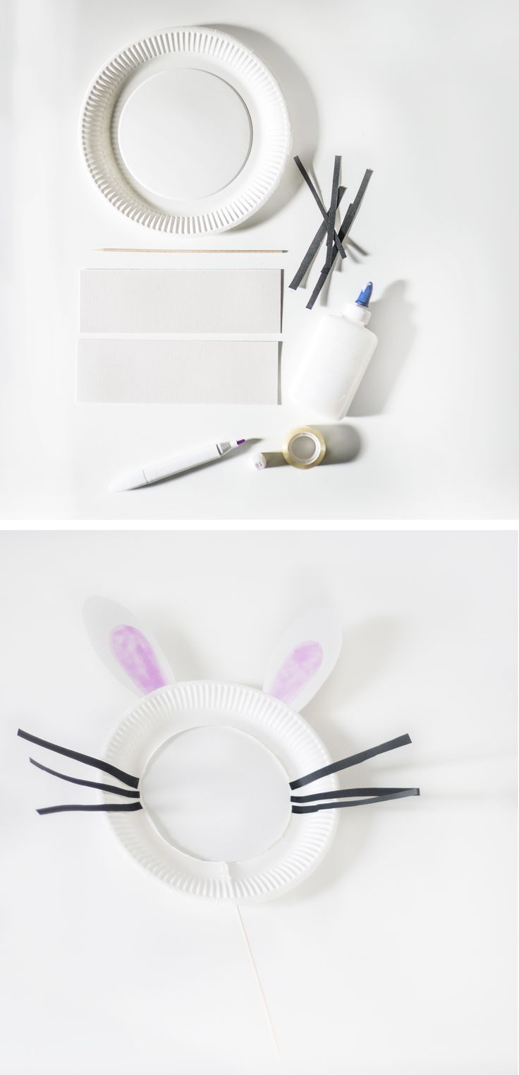 DIY: Cute bunny mask