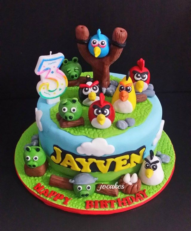 Angry Birds Happy Birthday