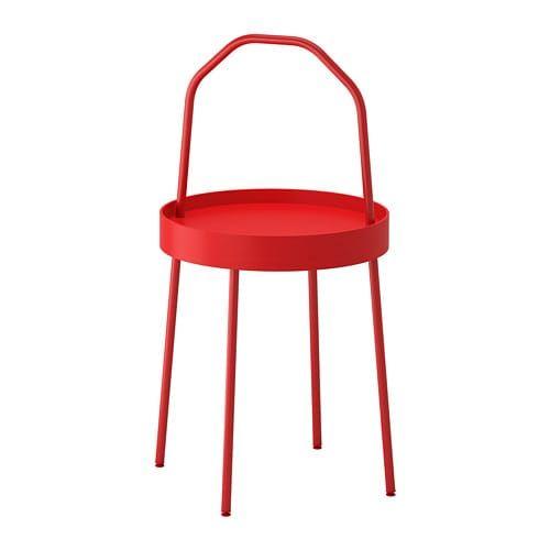 Burvik Beistelltisch Rot In 2018 Wohnzimmer Pinterest Ikea
