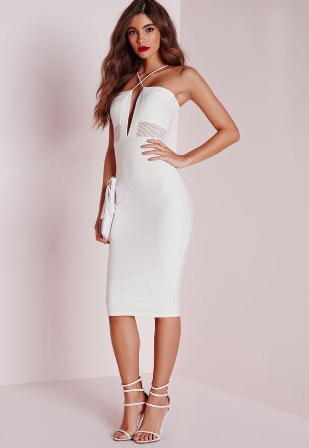 Three floor white wash dress