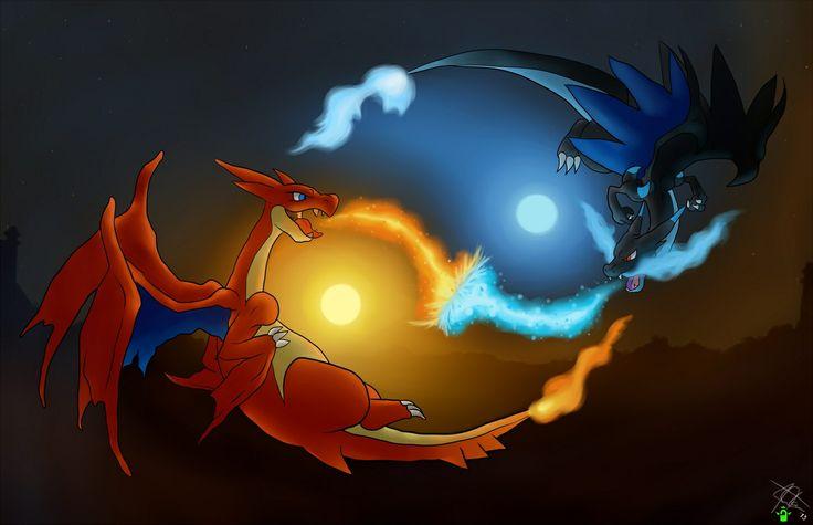 Mega Charizard Yin-Yang   Pokemon   Pinterest