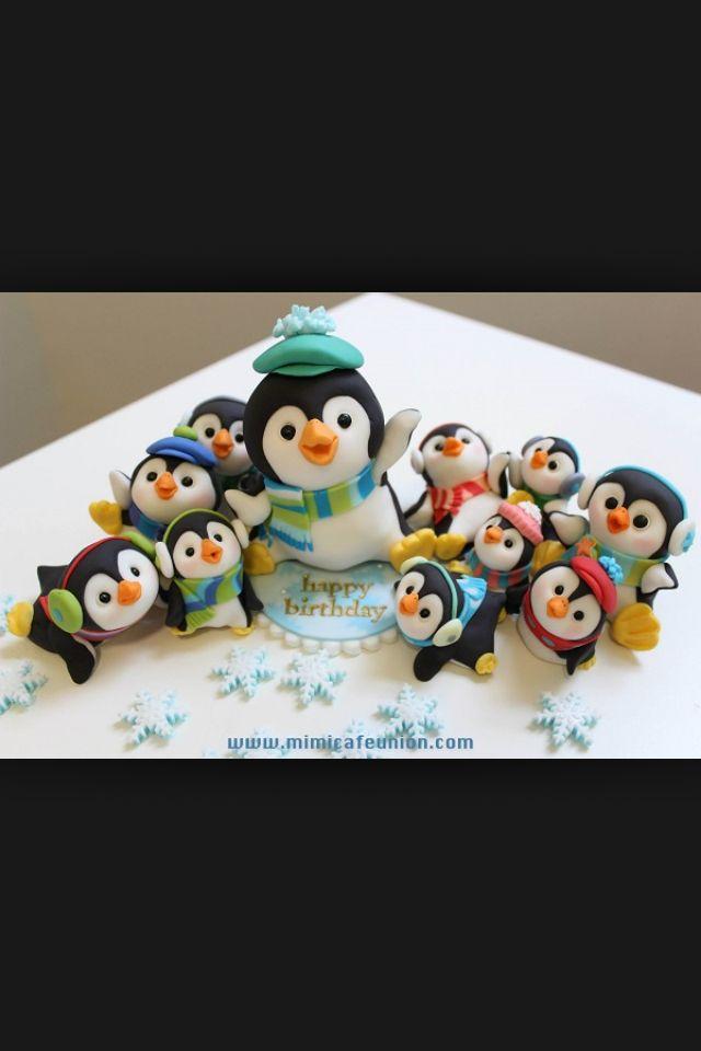 xmas penguins
