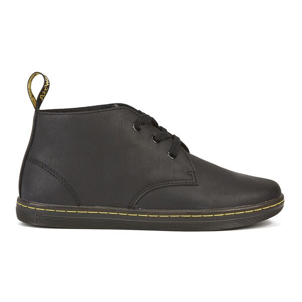 Dr. Martens Men's Eclectic Will Padded Collar Desert Boots ($105) ❤ liked on…