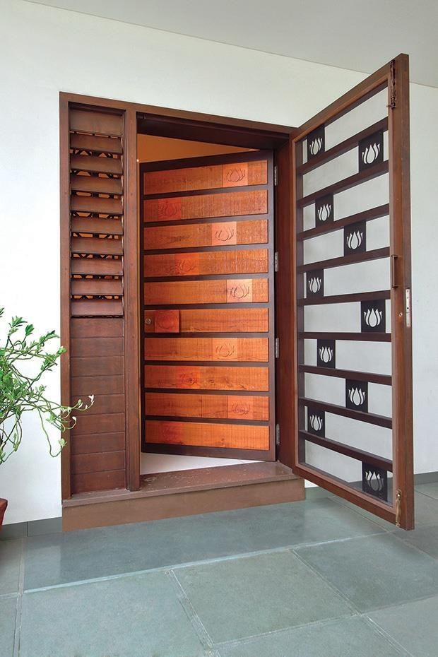 17 best images about pooja room on pinterest you deserve for Door design steel jali