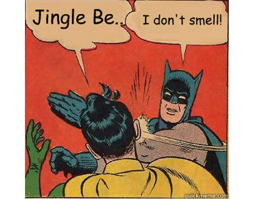 Jingle Bells Batman Smells :)  I can't stop laughing. I gotta show this to my boys at school that have been singing this song every day since coming back from thanksgiving break!