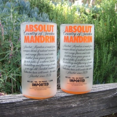 Absolut Mandarin Tumblers (Also Ruby Red, Pear, etc) {$20}