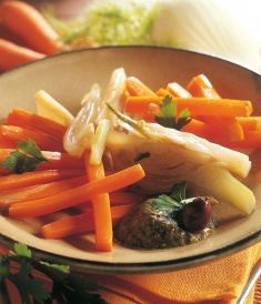 Bastoncini di carote e finocchi al verde - Tutte le ricette dalla A alla Z - Cucina Naturale - Ricette, Menu, Diete