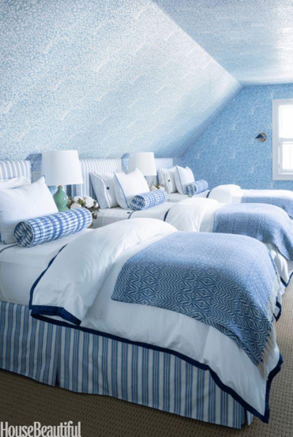 A Connecticut Designeru2019s Blue Rooms Brooke Crew, a Westport, Connecticut ba… #renovieren